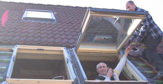 Dachwohnfenster