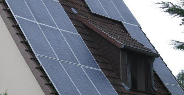 Ein Solardach